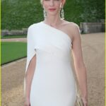 Cate Blanchett se detache du lot en robe Raph Lauren au dîner du prince William