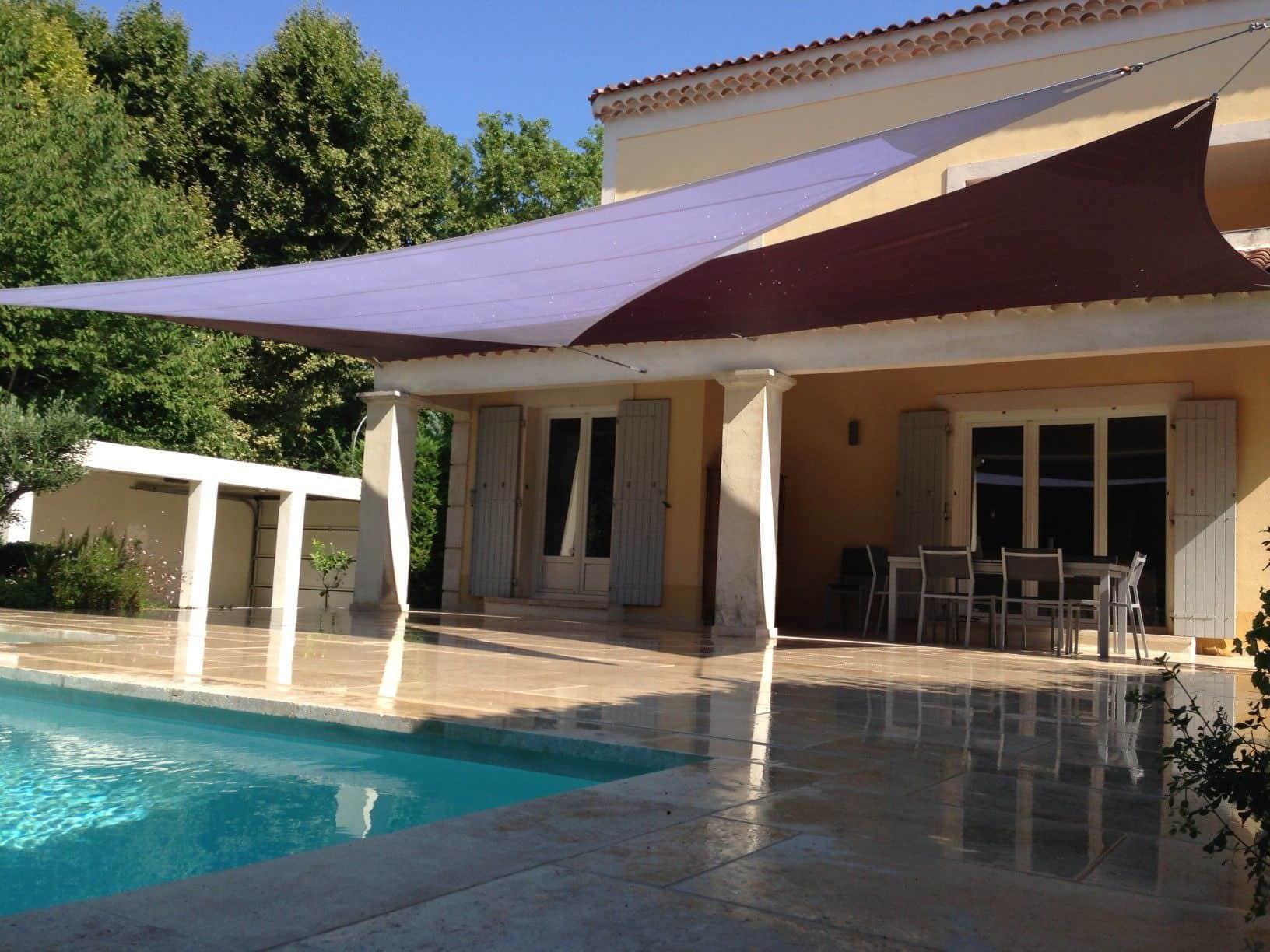 5 raisons de choisir les voiles d ombrage pour votre - Ombrage pour terrasse ...