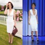 Jennifer Lopez et Michelle Dockery : qui porte le mieux la robe blanche ?