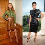 Eva Longoria et Blake Lively : elles optent pour un total look cuir en été