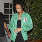 Appréciez le look de Rihanna pour un dîner avec son père