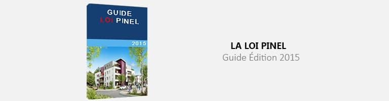 La Guide loi Pinel édition 2015 - image horizontale