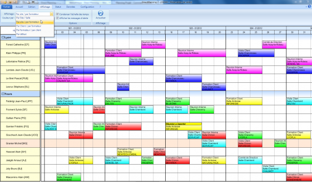 planning Calendrier 2015 Excel