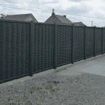 La palissade en aluminium: le brise-vue efficace et esthétique