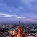 Une vue panoramique de Paris