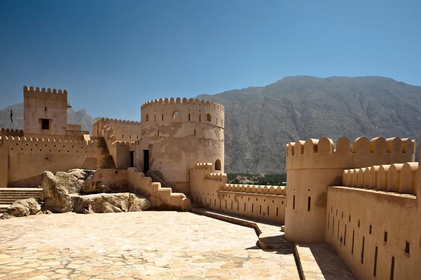 Voyage Oman - Fort de Bahla