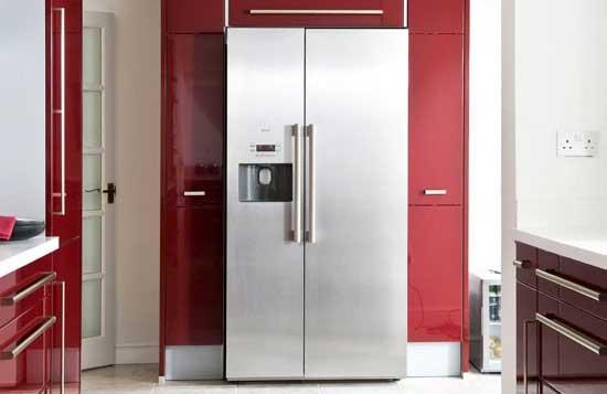 Frigo am ricain ma cuisine est elle assez grande for Peut on coucher un frigo froid ventile