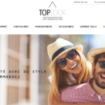 Toplook : l'indispensable grossiste de vêtements par internet