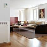 Un thermostat sans fil compatible avec la domotique