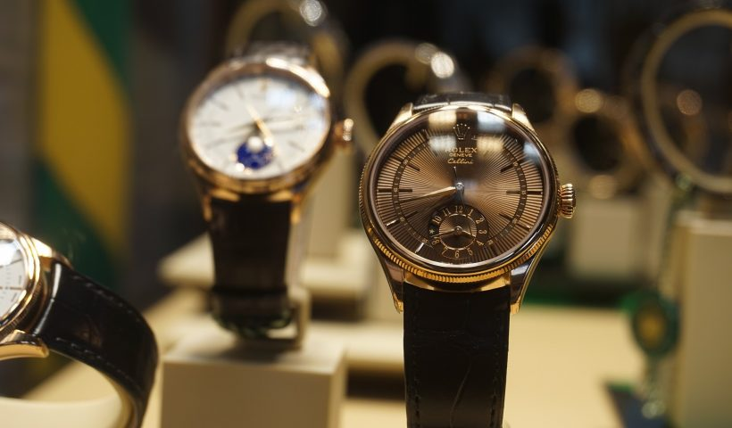 Une collection de montres