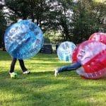 Le bubble foot, l'atout fun du football en salle