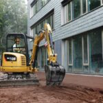 Une pelle de location : indispensable pour tous travaux de terrassement