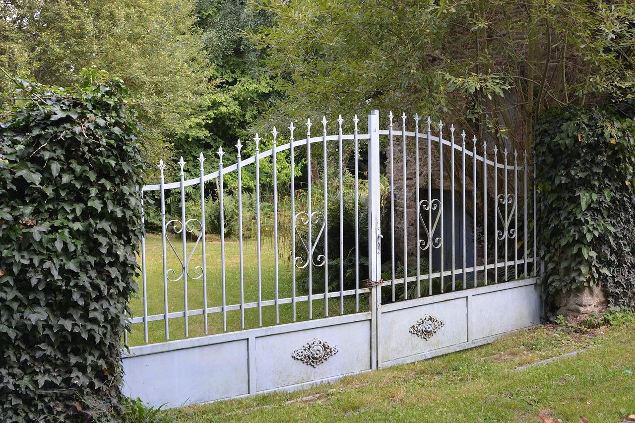 exemple de portail en fer forgé