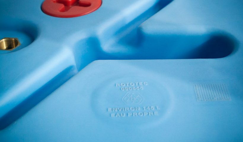 réservoir en plastique